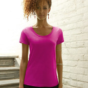 Ladies' Sheer Scoopneck T-Shirt