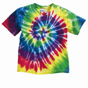 Youth Multicolor Spiral T-Shirt