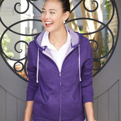 Juniors' Two-Color Deluxe Fleece
