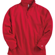 Polyester Fleece Quarter-Zip Pullover