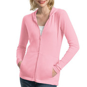 Ladies Modern Stretch Cotton Full Zip Jacket